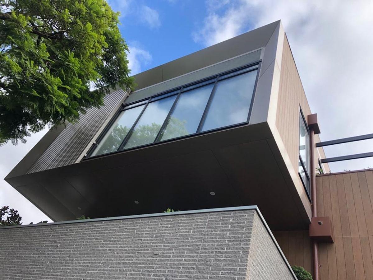 Fassade Metallverkleidung
