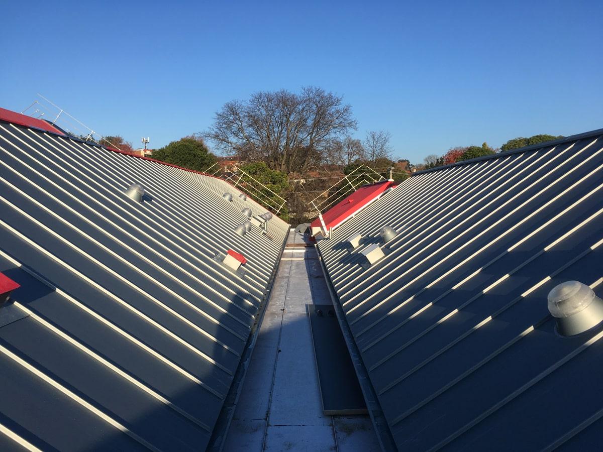 Metallverkleidungen Dächer